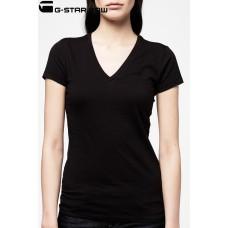 G-star Raw Base Deep V Neck T-shirt - Black