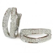 0.31ct Vs/fg Round Diamond Earrings