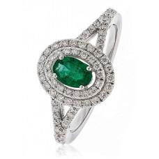1.35ct Vs/fg Oval Gemstone Ring