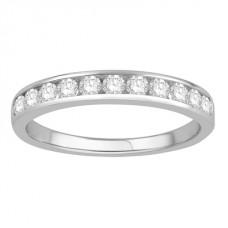 3mm Petite Round Diamond Eternity Ring