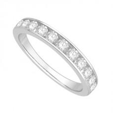 3.5mm Petite Round Diamond Eternity Ring
