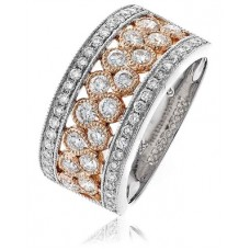 1.00ct Vs/ef Round Diamond Dress Ring