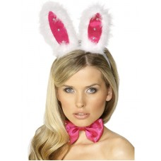 Bunny Set,pink And White