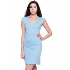 American Apparel Women's Baby Rib Cotton Cut-out Dress