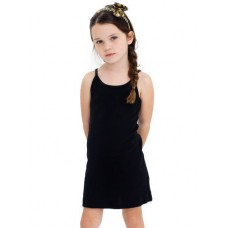 American Apparel Kids Baby Rib Spaghetti Tank Dress
