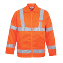 Portwest Work Wear Rail Industry Hi-vis Poly-cotton Jacket
