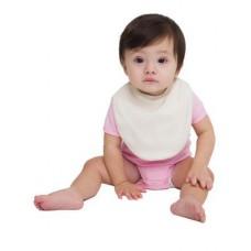 American Apparel Infant Baby Organic Cotton Baby Rib Reversible Bib