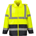 Portwest 190t Range Hi-vis Classic Contrast Rain Jacket
