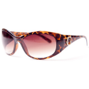 Guess Sunglasses In Oval With Diamante Logo Colour: Black