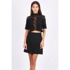 Tfnc Julianna Black Skirt